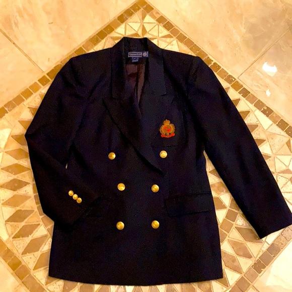 Charter Club Classic Navy Blazer